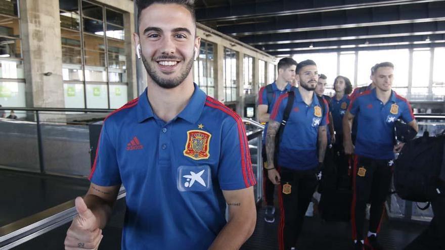La selección de España Sub 21 ya está en Córdoba con Andrés Martín a la cabeza