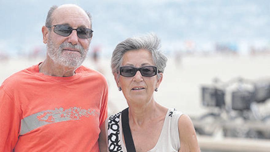 «La platja de la Rubina era gairebé verge»