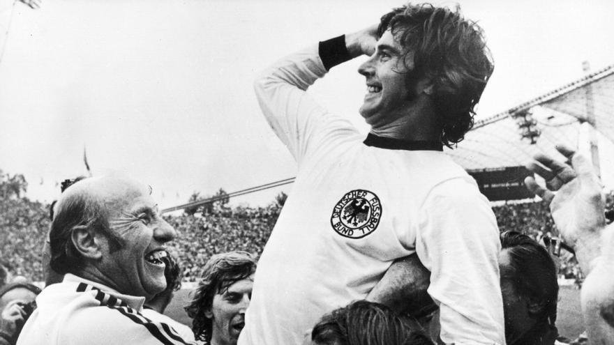 Mor el futbolista Gerd Müller, el golejador llegenda del fúbol alemany