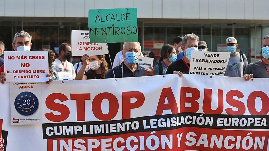 Los interinos van hoy a la huelga contra la precariedad laboral