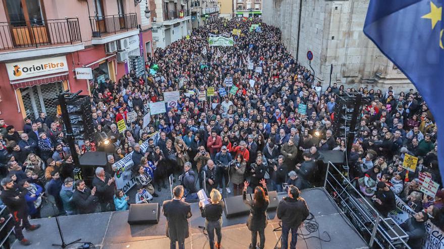 El Grupo Popular de Orihuela pagó la logística de la manifestación contra el plurilingüismo