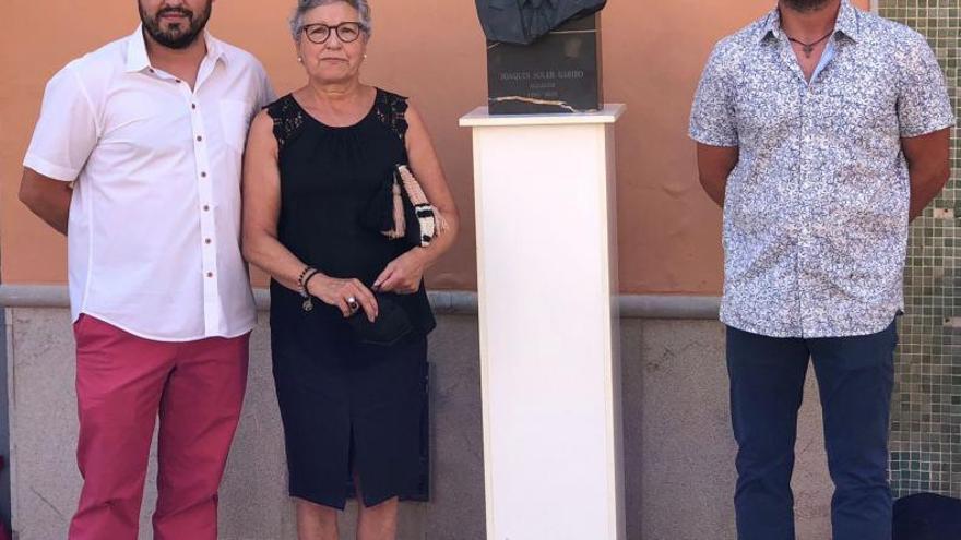 Un busto para recordar a  Joaquín Soler