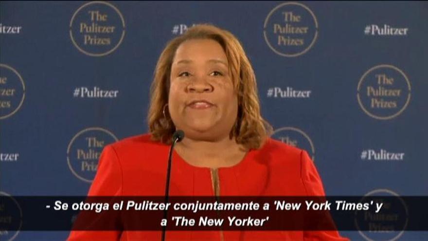 Pulitzer para 'The New York Times' y 'The New Yorker' por revelar los abusos de Weinstein