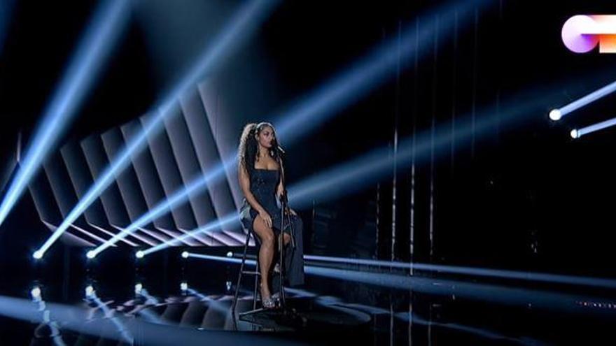 """Nia, la """"Beyoncé"""" espanyola, guanya OT 2020"""