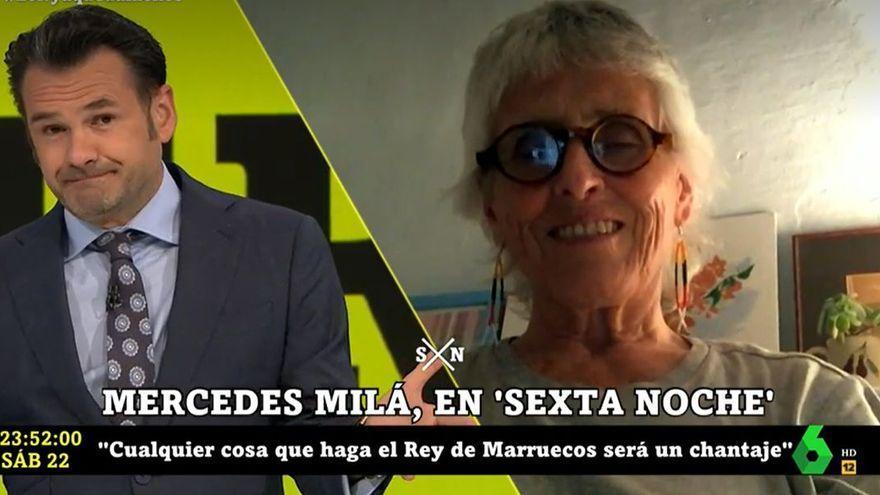 """Las duras palabras de Mercedes Milá  contra Miguel Bosé: """"Ejemplo maligno"""""""