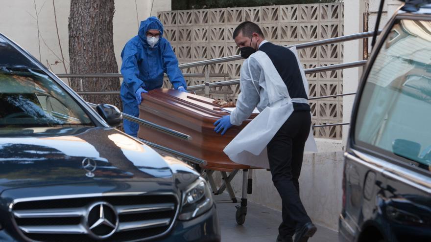 7.990 nuevos contagios y 97 muertes por coronavirus en la Comunitat Valenciana