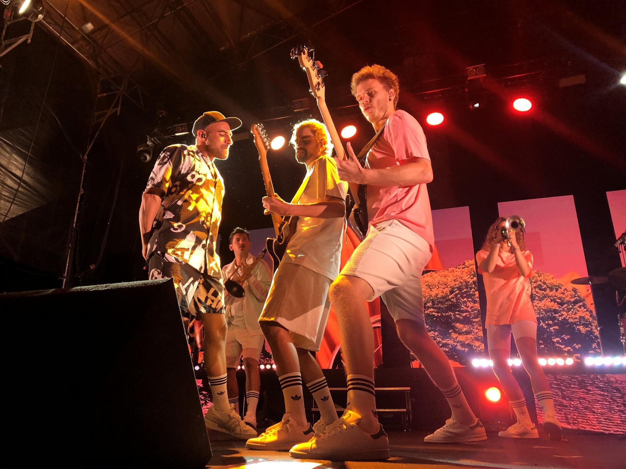 Nil Moliner i la seva energia actuen al festival Sons del Món.