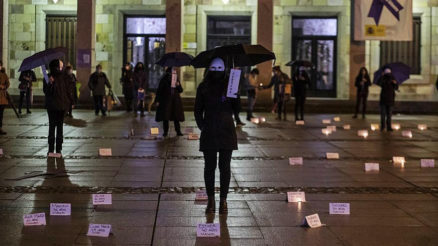 """25N en Zamora   """"Ellas somos todas"""""""