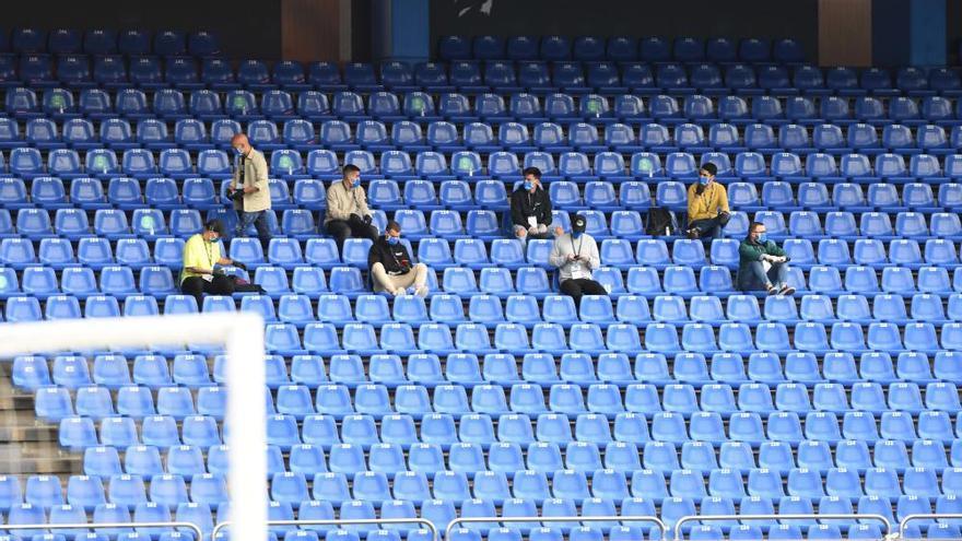 El Dépor empata en la 'vuelta' con el Sporting