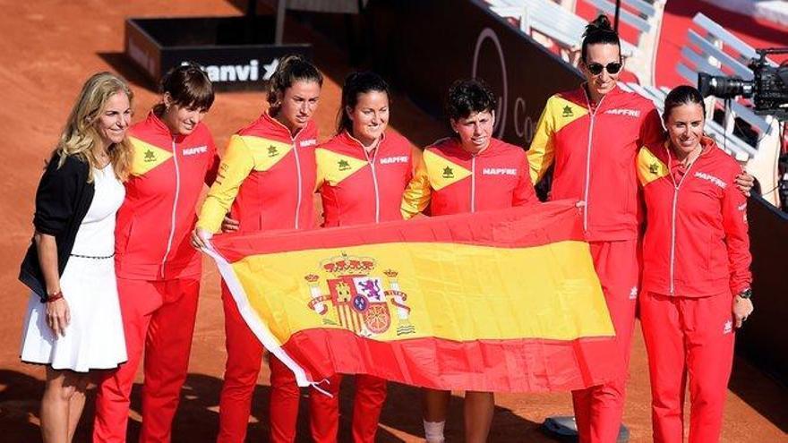 Carla Suárez certifica la clasificación de España para la fase final de la Copa Federación