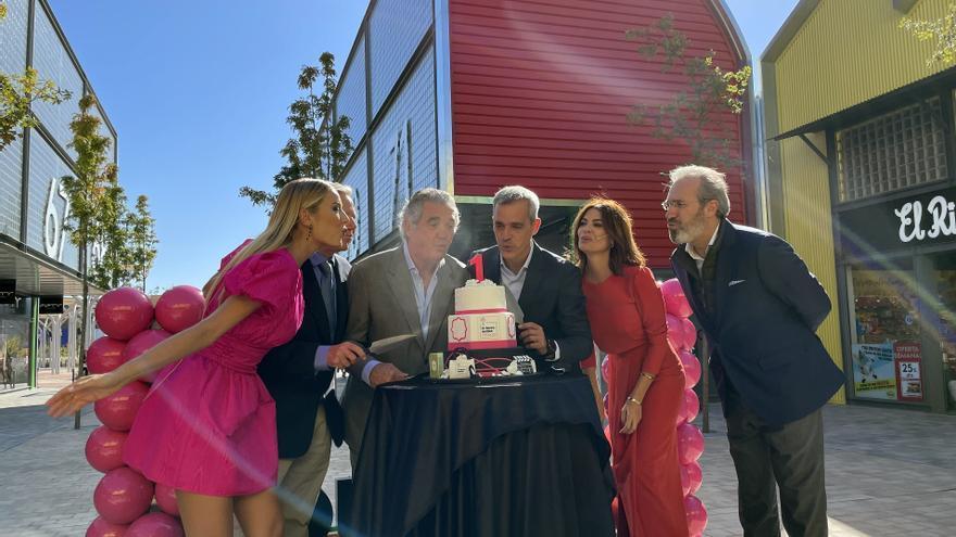 La Torre Outlet Zaragoza celebra su primer aniversario por todo lo alto