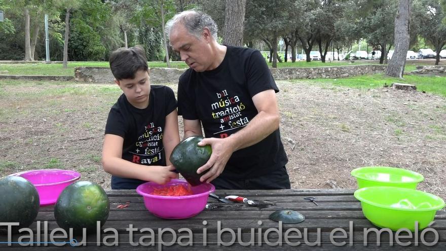 Vila-real edita un tutorial para aprender a elaborar los 'fanalets'