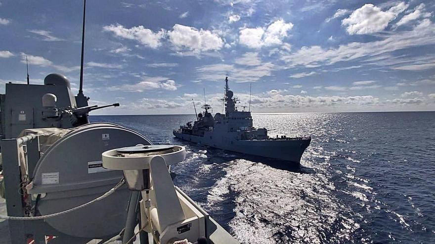 El Infanta Cristina parte a vigilar el Mediterráneo