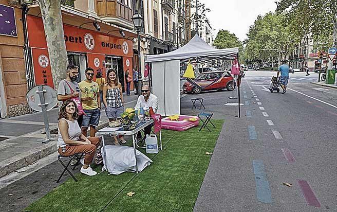 El Park(ing) Day reivindica espacio para las personas