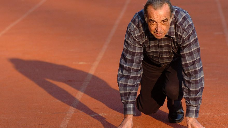 El legado del atleta asturiano Melanio Asensio, el genio que no se esforzaba y acabó siendo pintor