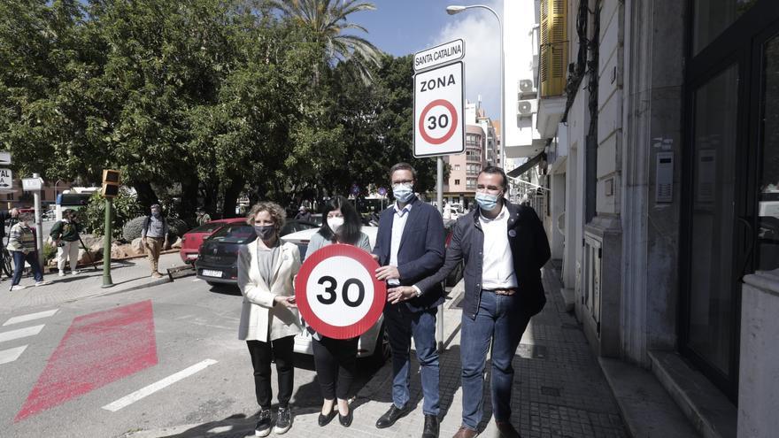 Entra en vigor en toda España la reducción de la velocidad a 30 kilómetros por hora