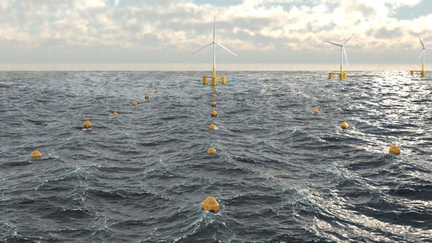 La firma que busca generar energía con las olas en Viana llega a Irlanda