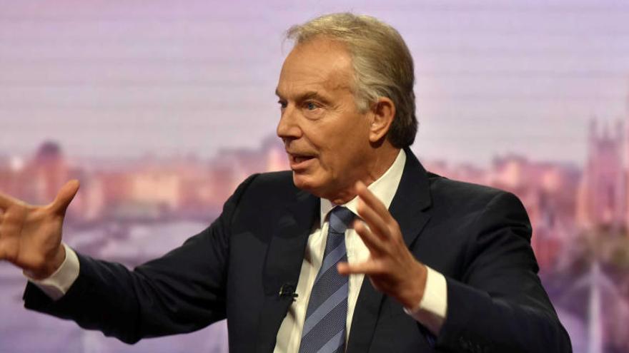 Tony Blair propone dureza contra la inmigración para evitar el Brexit