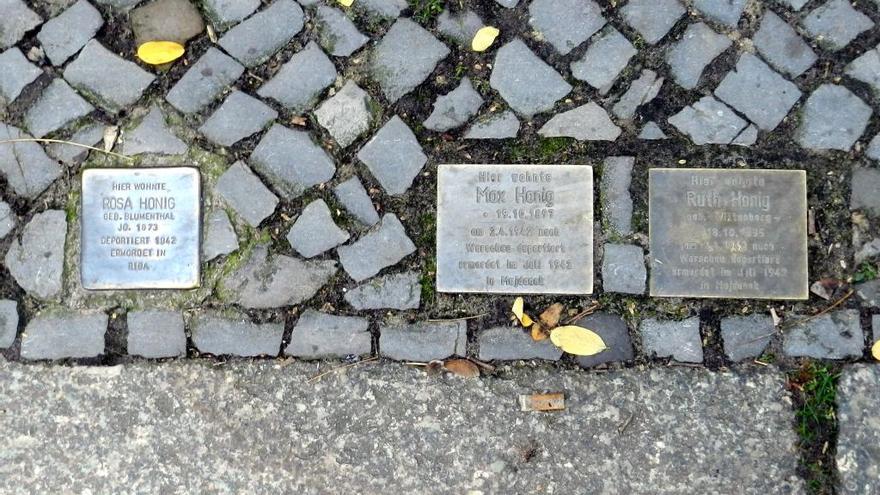 Auch in Palma de Mallorca werden Stolpersteine verlegt