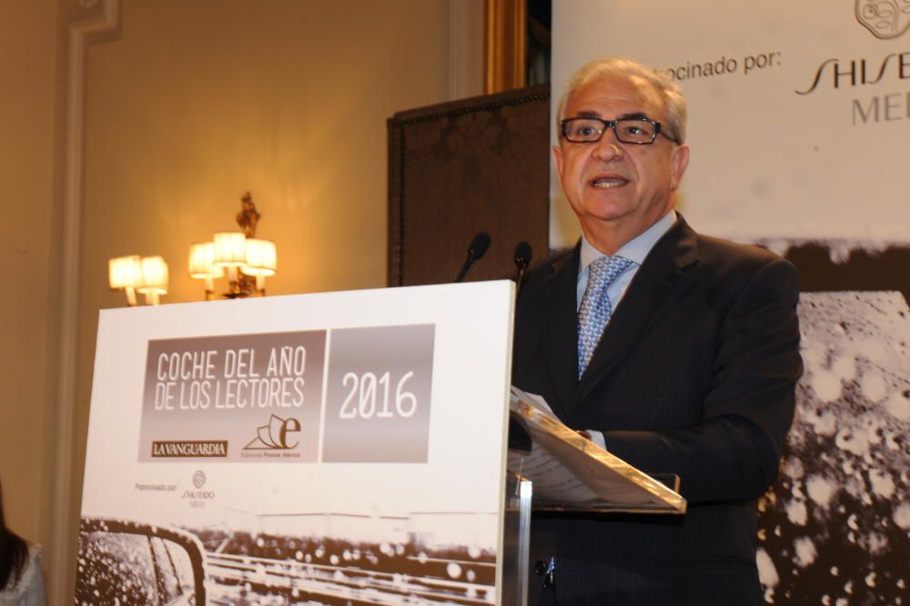 Entrega de los premios Coche del Año de Los Lectores 2016