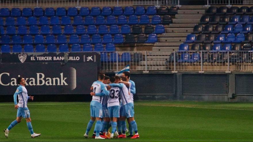 El Málaga-Granada de Copa, sin público en las gradas
