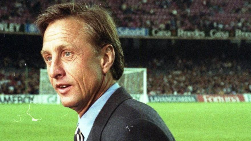 Jordi Cruyff: «El meu pare votaria Laporta i no només ara, sempre»