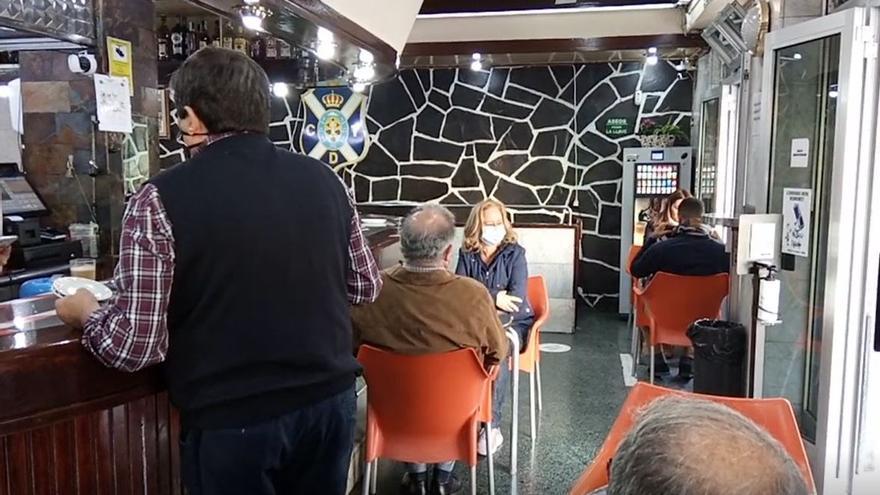 Bares y restaurantes de Tenerife ya pueden servir en el interior de los locales