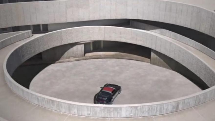 Porsche elige Tenerife para su nuevo 'spot'