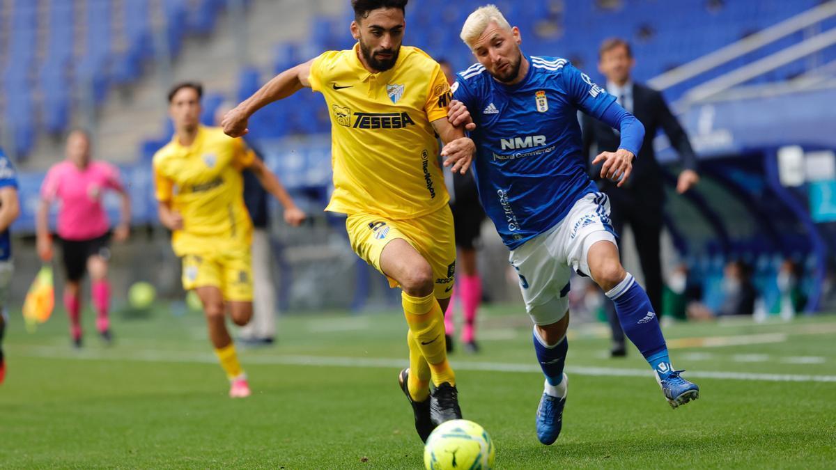 El partido del Real Oviedo, en imágenes