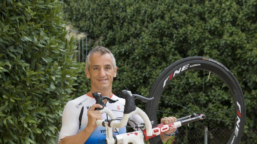 Llinares, una salut de ferro per competir a l'Ironman de Hawaii