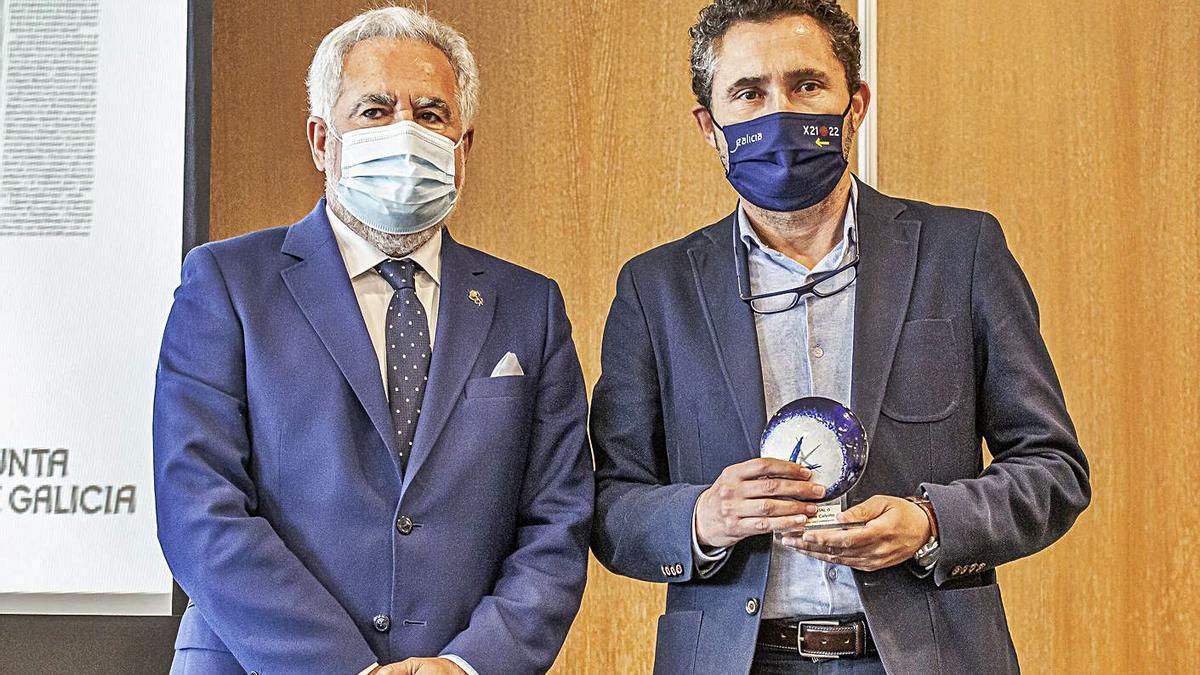Premio para Xaime Calviño por un reportaje en LA OPINIÓN | L. O.