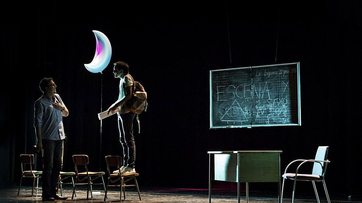 Una escena de la pieza de Insularia Teatro.