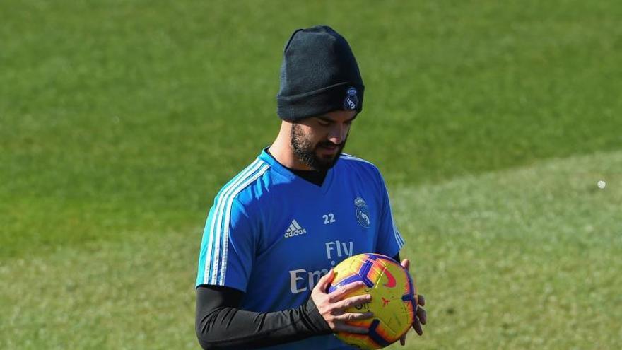 El Madrid expedienta a Isco por su comportamiento