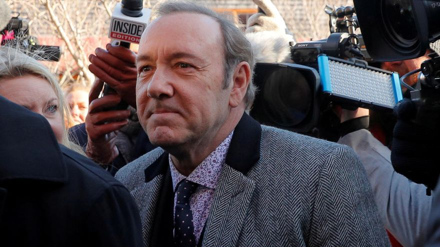 Kevin Spacey, demandado por agresión sexual a dos menores