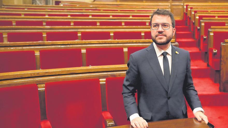 """Aragonès dice que el Govern tendrá """"una portavoz"""" y que """"no necesariamente"""" será 'consellera'"""