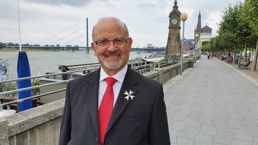 Alfonso López, natural de Molezuelas de la Carballeda, recibe una orden del mérito en Alemania
