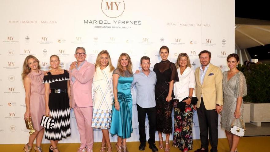 Maribel Yébenes inaugura un centro de belleza en Málaga