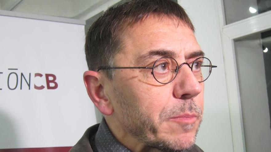 El juez de Neurona imputa a Juan Carlos Monedero
