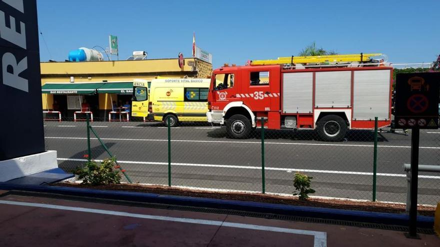 Accidente mortal en San Juan de la Rambla