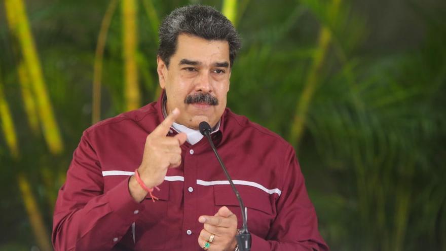 """Maduro trabajará """"con paciencia"""" para establecer un diálogo con Biden"""