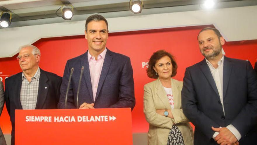 El PSOE logra revalidar la victoria obtenida en las generales