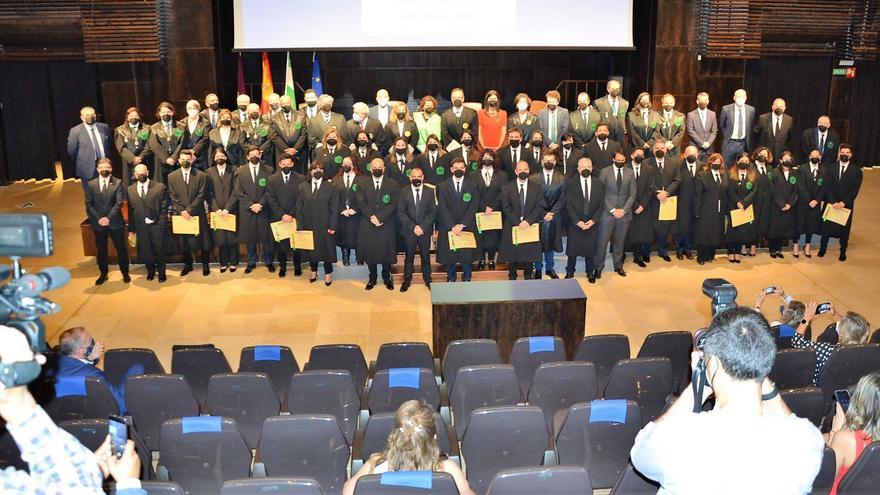 Jura o promesa de nuevos colegiados de los  graduados sociales