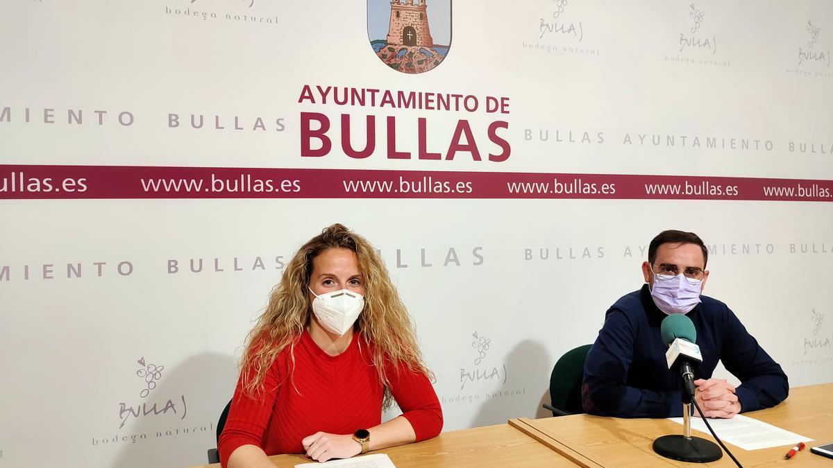 Comparecencia de los concejales del Ayuntamiento de Bullas