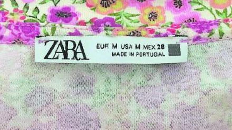 Resuelto el mensaje de las etiquetas de Zara