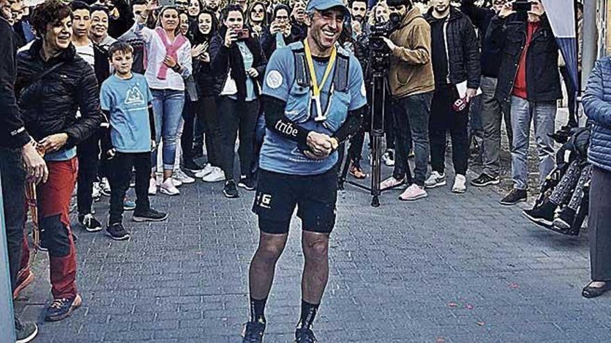 Garau completa la Vuelta a Mallorca más solidaria