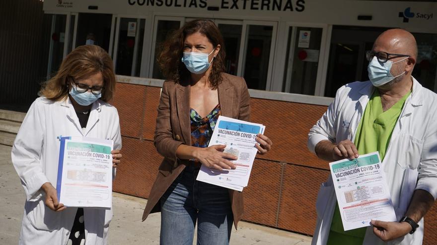 Nuevo llamamiento a la vacunación en Zamora y Benavente: generaciones de 1972 a 1976