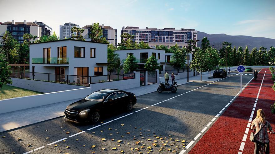 Un nuevo barrio residencial en Valladares: pisos diáfanos y chalés con jardín
