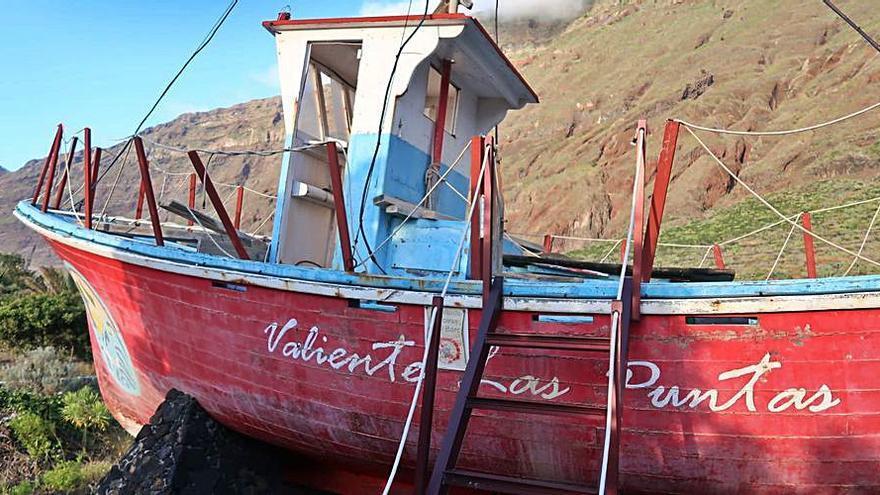 AHI-CC reclama al Ayuntamiento que restaure el barco 'Valiente Las Puntas'