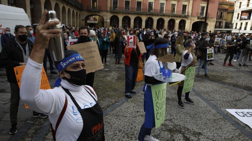 Los hosteleros se encerrarán en la iglesia de San Pedro de Gijón