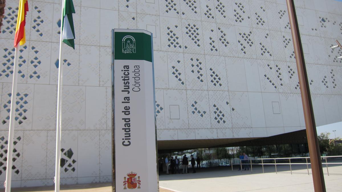 Fachada Norte de la Ciudad de la Justicia de Córdoba en una imagen de archivo.